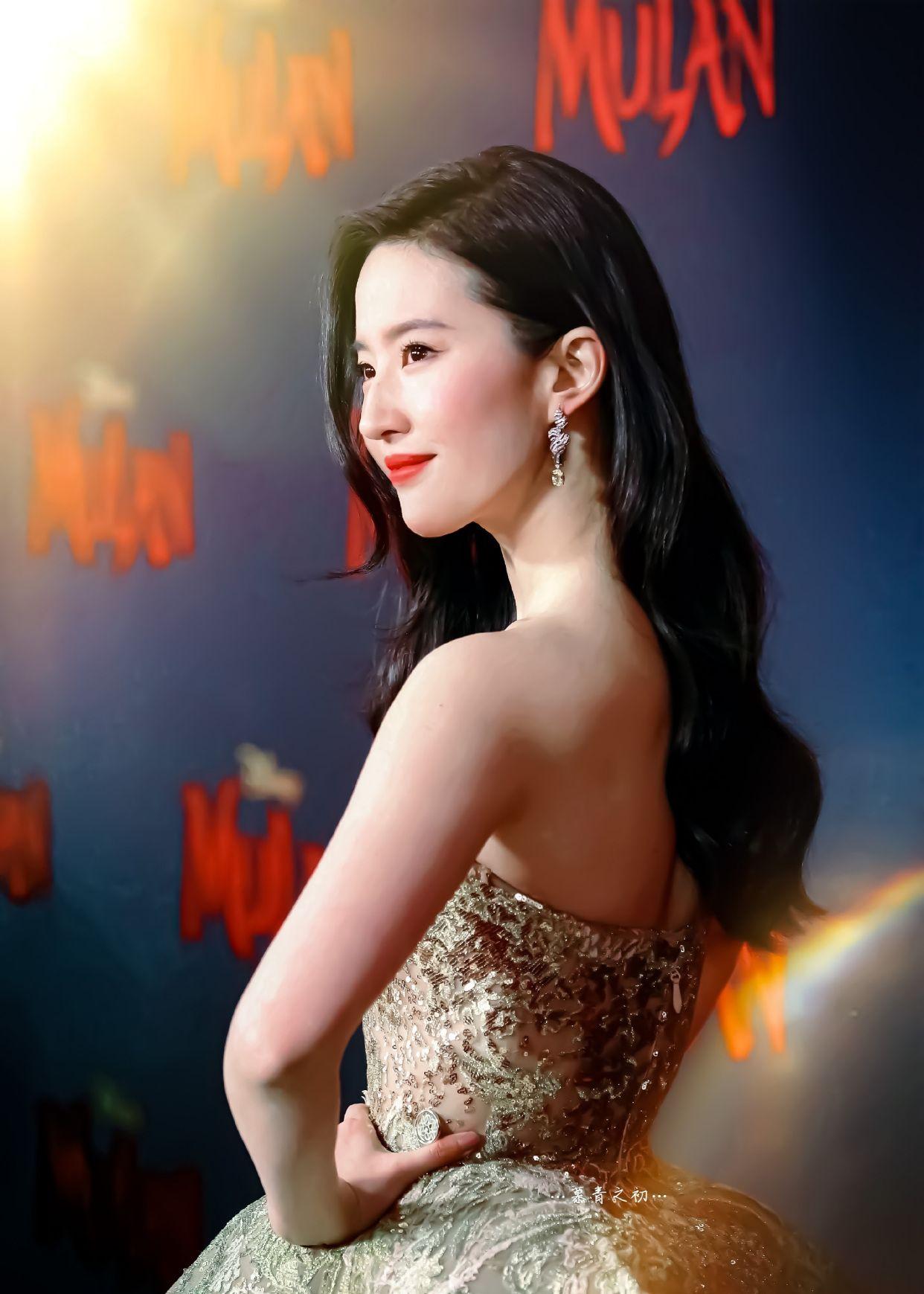 刘亦菲,肤若凝脂的美人