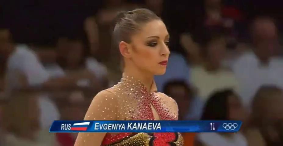 卡纳耶娃个人艺术体操棒操表演,身姿绰约,柔软度很好!