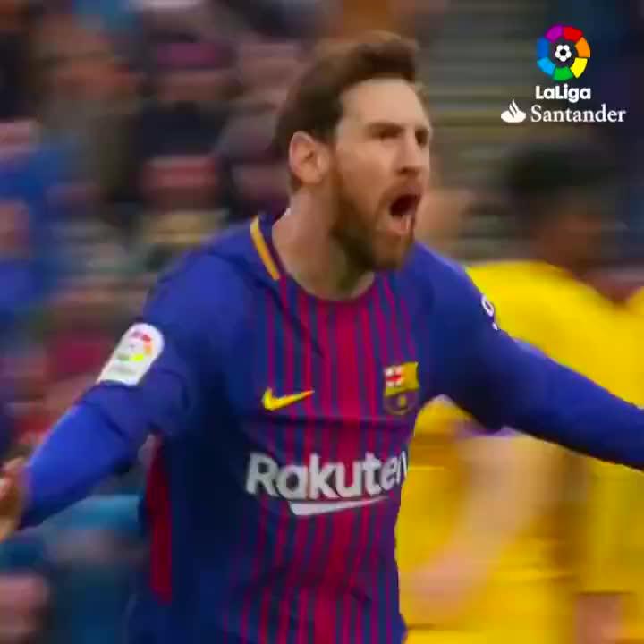 梅西罚任意球,特技将人墙抹掉,梅球王犹如罚点球一样轻松