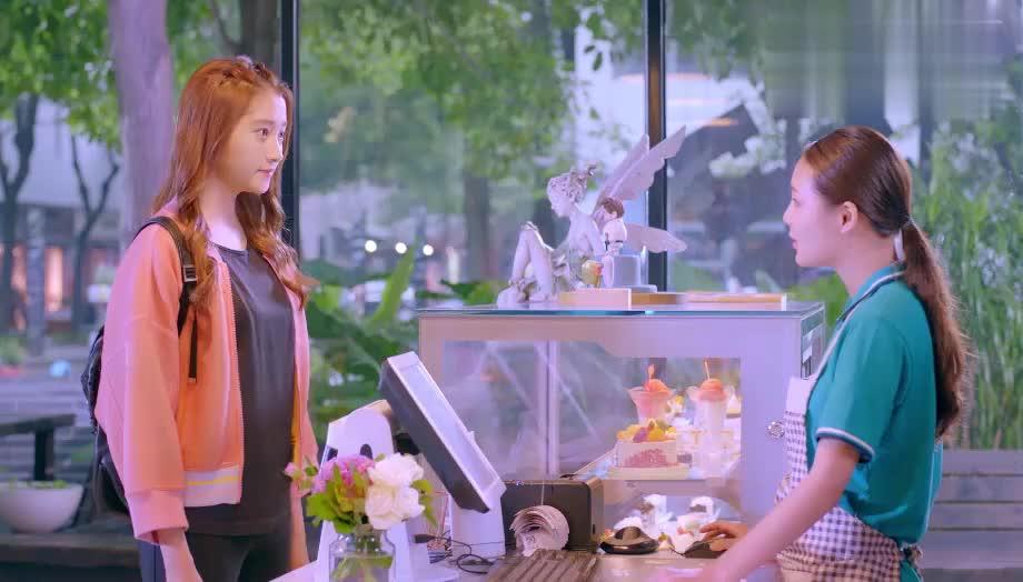 爱在甜品店,明天发传单不忘偷看女王,两人暗生情愫
