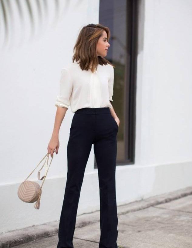 别总穿铅笔裤了,太俗!现在更流行这条裤子,时髦显瘦又时髦