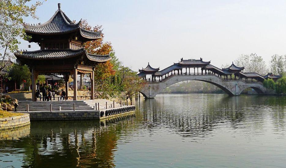 江北水乡,运河古城——台儿庄