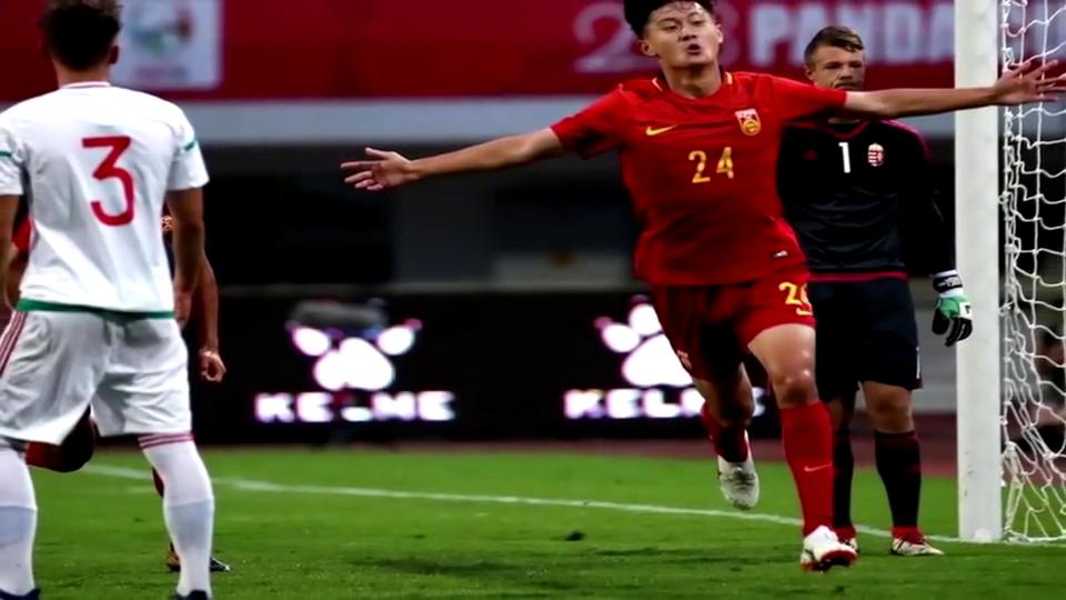 熊猫杯中国国青大胜卫冕冠军匈牙利最终目标是亚青赛决赛
