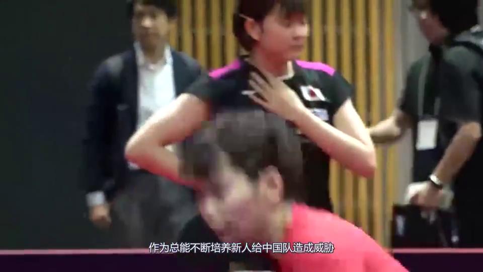 日乓队终于嚣张不起来了,张本:确实比我强,平野直言:不想打了