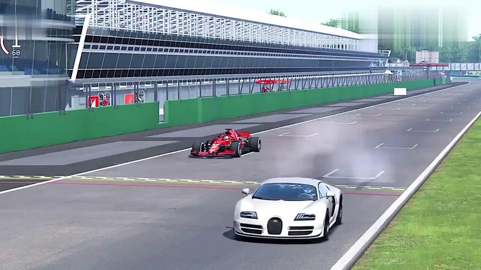 超级跑车与F1赛车相比较,到底有多少的差距!