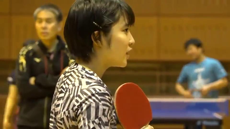 平野美宇的日常乒乓球训练,看看与国内有什么不同