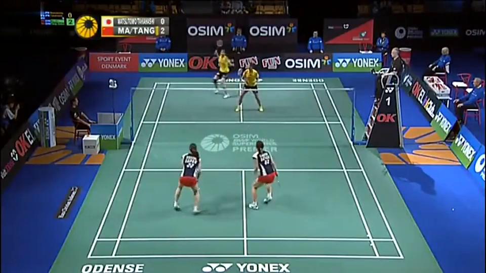 2012丹麦赛女双决赛马晋汤金华VS松友美佐纪高桥礼华