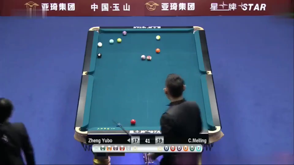 整个中八世锦赛这杆球价值连城,估计郑宇伯会记一辈子