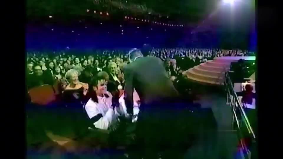 91年奥斯卡颁奖礼珍贵画面:杰克逊和麦当娜同为嘉宾,巨星配巨星