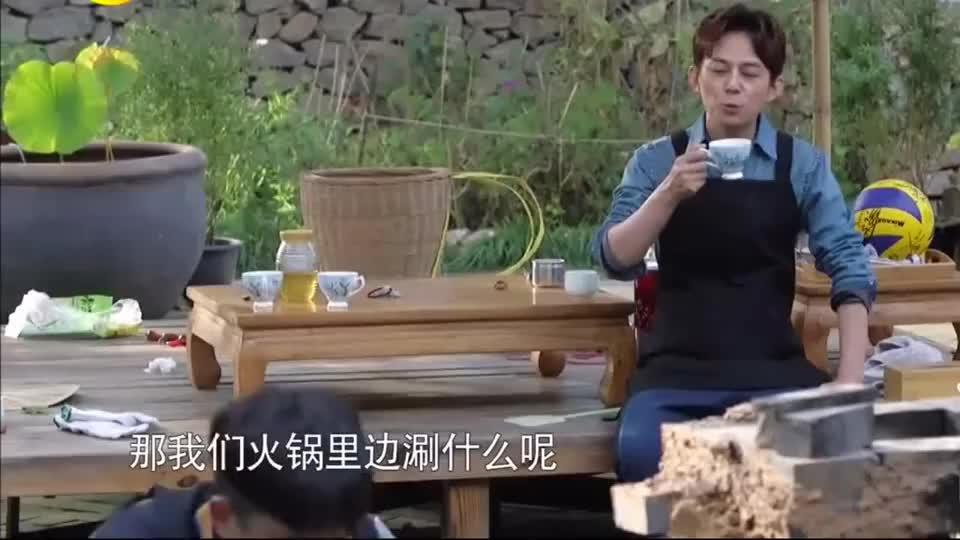 黄磊要做烧烤,导演组收费1500元,黄磊一脸懵:怎么比佛跳墙还贵