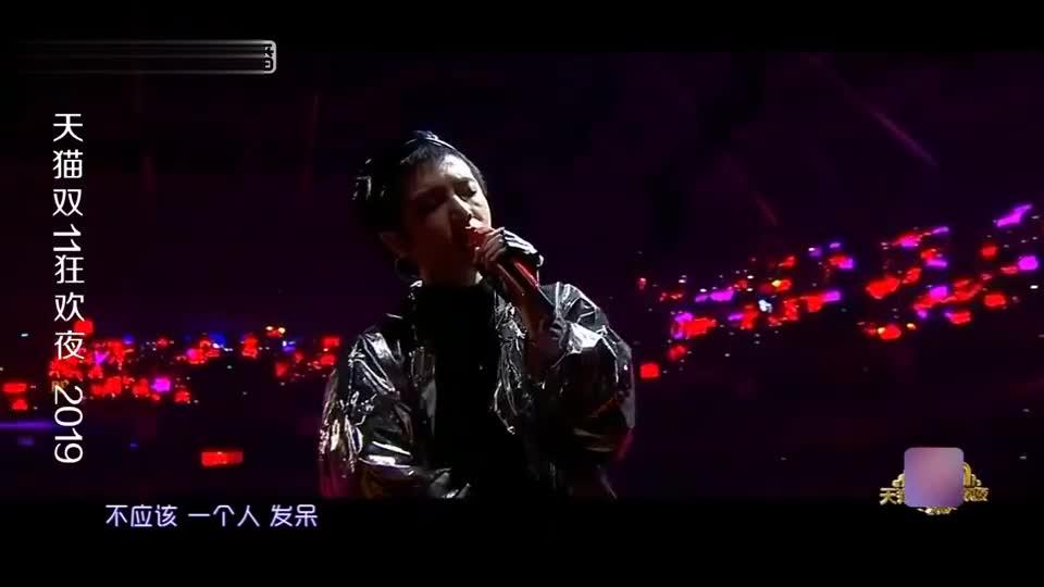 华晨宇一开嗓整个舞台都是他的!高音燃爆全场你,太感人了!
