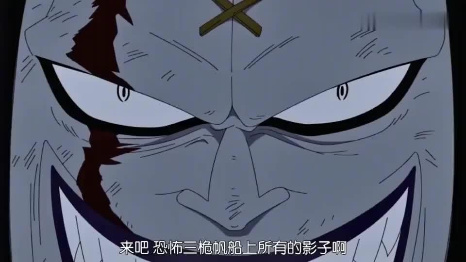 海贼:吸收了100个影子的路飛就无比强悍,莫利亚吸收了1000个