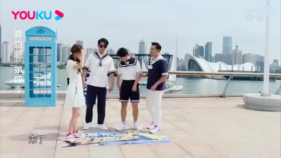 奔跑吧:蔡徐坤的腿有多长?轻松就追到郑恺,麒麟看呆了