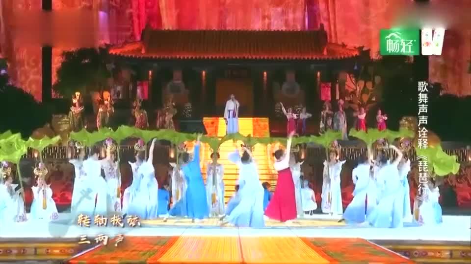 林允、魏大勋、何杜鹃合体演绎《琵琶行》,大勋唱歌太好听了吧!