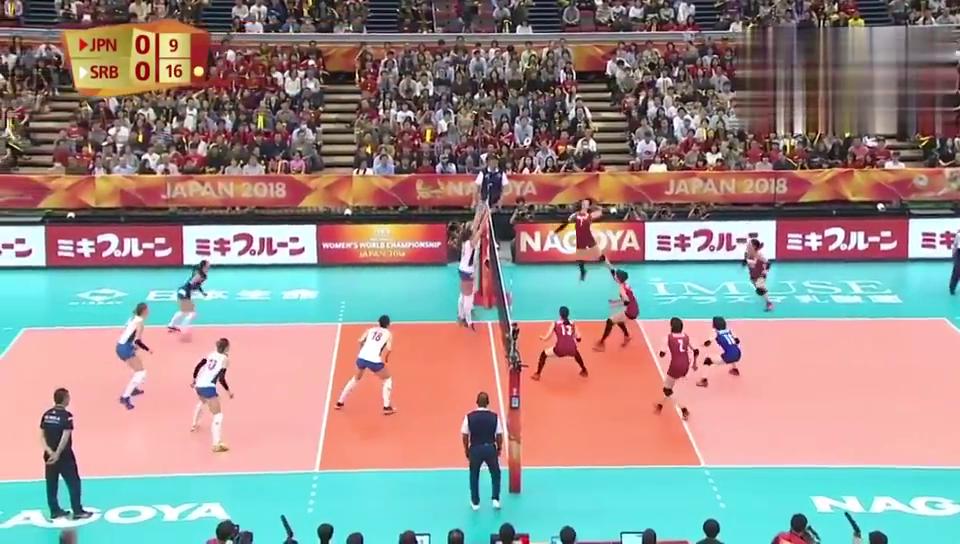 甜蜜复仇!女排世锦赛六强战塞尔维亚30横扫日本!
