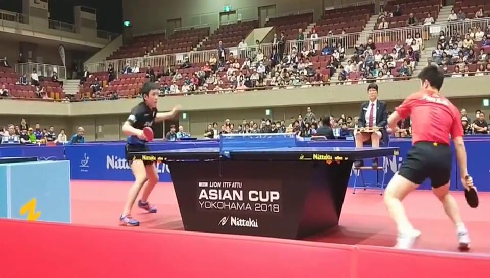 樊振东1-3不敌张本智和最后一球,乒乓球亚洲杯大冷门