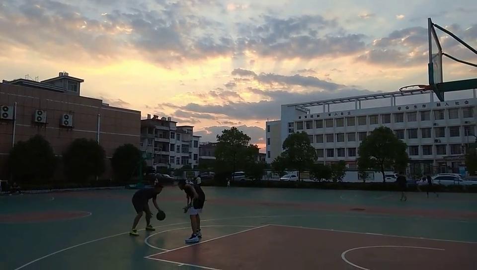 横向跳侧步加跳投连惯动作教学!云风篮球