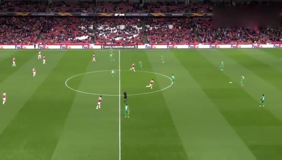 欧联杯奥巴梅扬2球厄齐尔建功,阿森纳4-2沃斯卡拉