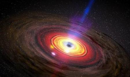 为什么银河系中心黑洞不活跃?原来是强磁场在捣乱