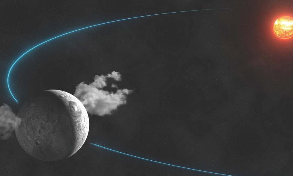 太空之中有外星建筑?谷神星上的反光现象,到底是如何形成的?