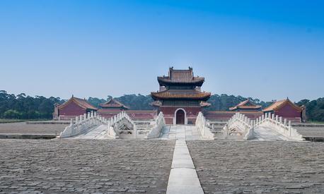 嘉庆帝和孝淑睿皇后喜塔腊氏的陵寝,河北省易县清昌陵