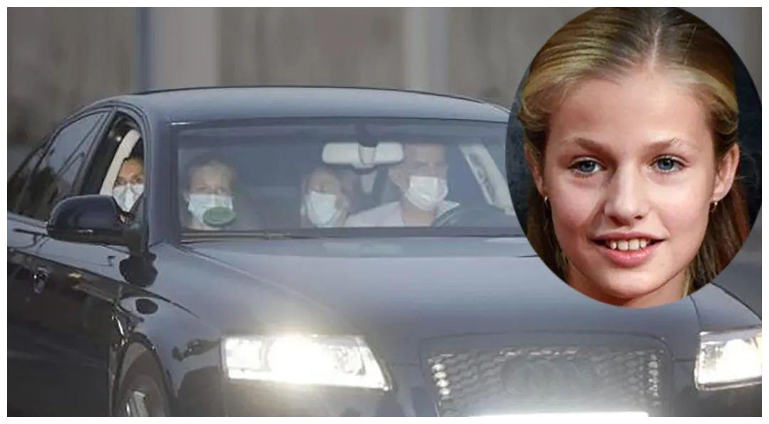 15岁西班牙大公主临危受命,首次坐上莱蒂齐亚位置,挽救家庭形象