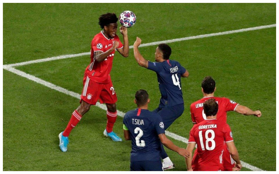 争议!欧冠2裁判是拜仁球迷?1行为暗示大巴黎更冤枉