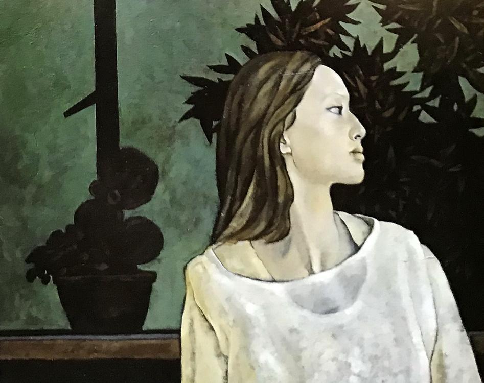 中央美术学院学生油画艺术作品