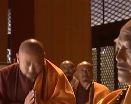 天龙八部:吐蕃国师鸠摩智拜访天龙寺高僧,想讨教下中原功夫!