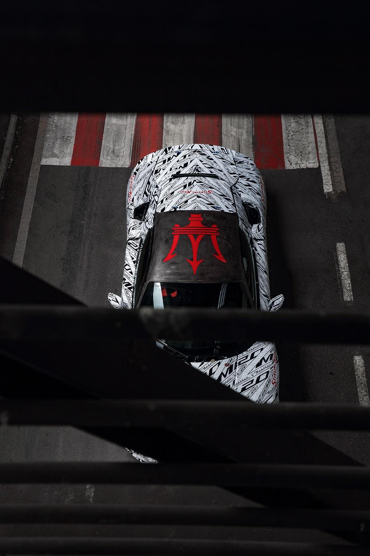 "MC20原型车亮相,致敬""无冕之王""斯特林·莫斯爵士"