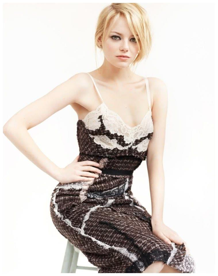美国女明星艾玛·斯通