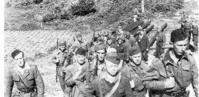 二战时南斯拉夫游击队的武器是哪里来的?