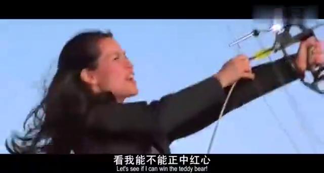 霹雳娇娃:玉玲爬到导弹上面,想把导弹搞失灵,没想还是慢了一步