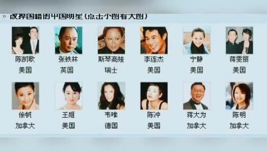 影视圈崩塌外国籍国内明星不止108将上榜的都是谁家的爱豆