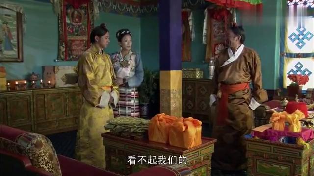 土登格勒是何居心,升为正三品噶伦后,竟不顾西藏旧例要分家!