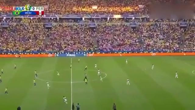 美洲杯-热苏斯传射+染红,巴西3-1秘鲁夺队史美洲杯第9冠