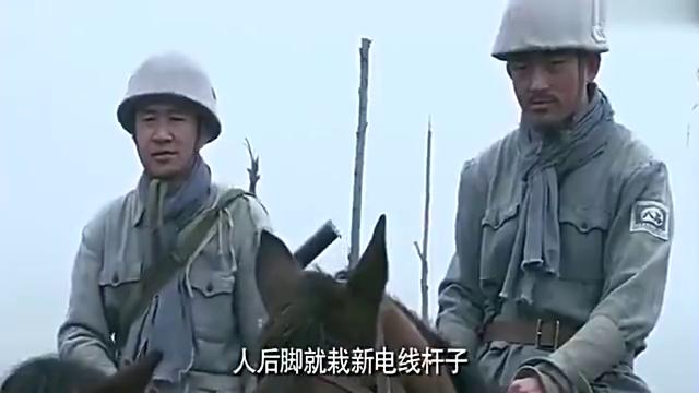 八路军用二胡琴弦冒充电线,阻断鬼子通讯,一举歼灭鬼子!解气!