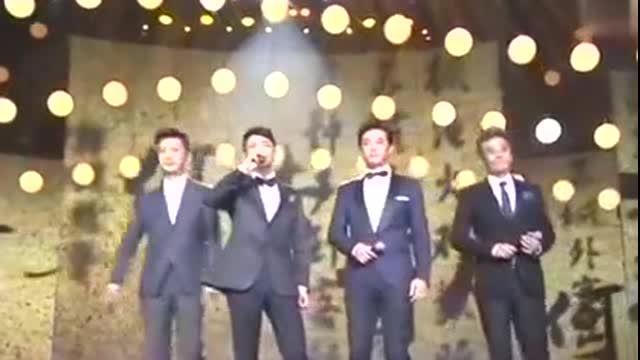 国剧盛典:刘奕君、黄维德、陈龙、高鑫四位硬汉演绎《刀剑如梦》