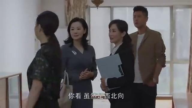 小欢喜:没想到陶虹一出场就是业主身份,这言谈举止真霸气