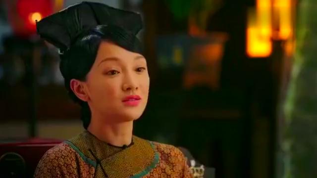 如懿传:皇上捏了捏高贵妃的鼻子,摸了摸她的脸,好恩爱啊