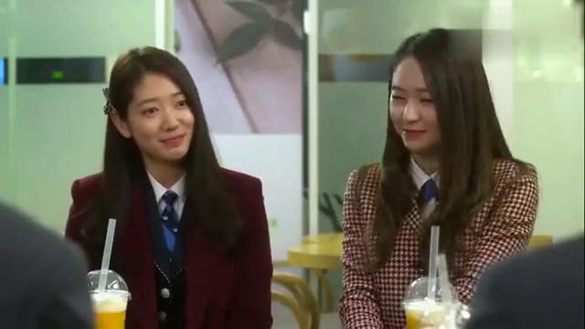 继承者们:吃醋的名场面,李敏镐和姜敏赫同时吃女友的醋,真逗