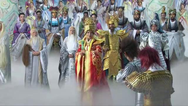 妈祖:妈祖到玉皇大帝驾前,四海龙王也争相巴结!