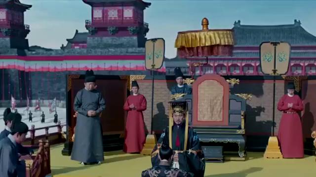 鹤唳华亭:有刺客在即位典礼上,预谋害太子,结果被侍女发现