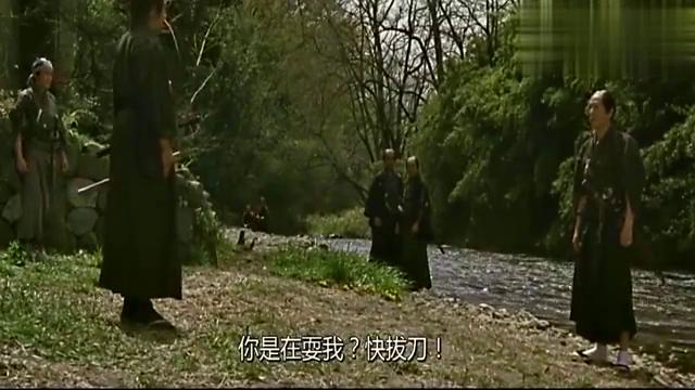 低阶武士用木棒对阵高阶武士,只用一招就把高阶武士撂倒!