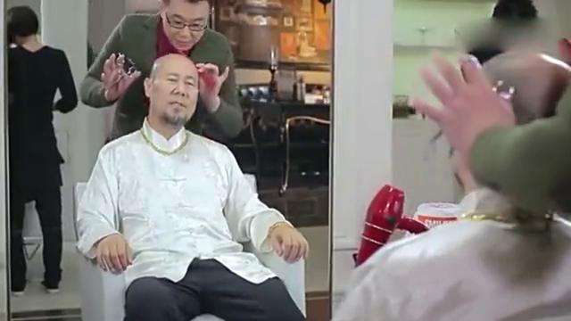 屌丝男士:发型师的手不是魔术手,是整容手啊!
