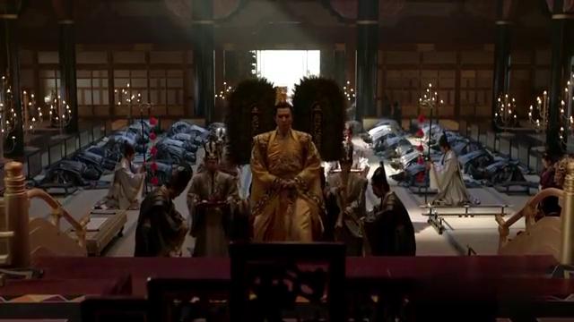 九州海上牧云记:牧云合戈荣登皇位,定年号永固
