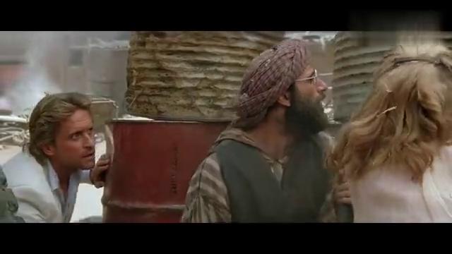 好莱坞冒险片:尼罗河夺宝被追杀,抢战斗机沙漠逃亡,遭坦克追击