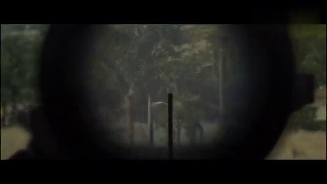 好莱坞劲爆战争电影,神枪手超远距离狙杀叛军头目,最精彩一段!