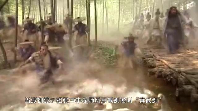 笑傲江湖:日月神教进攻武当之时,张三丰并没死,他为何不出手?