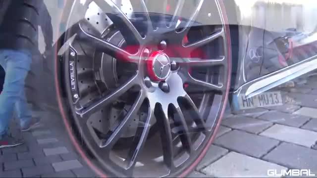 梅赛德斯奔驰AMG C63S,赛道狂飙,这声浪爽爆了!